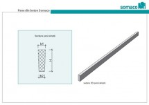 Pane simple - Grinzi secundare de inchidere si Pane din beton SOMACO