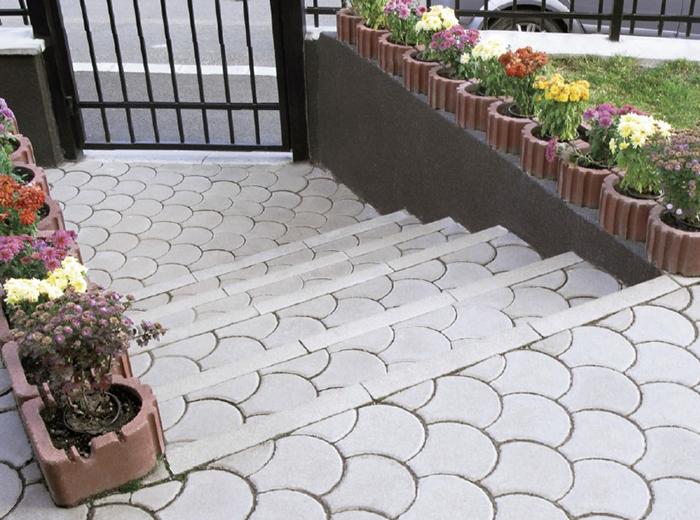 jardiniere din beton elis pavaje. Black Bedroom Furniture Sets. Home Design Ideas