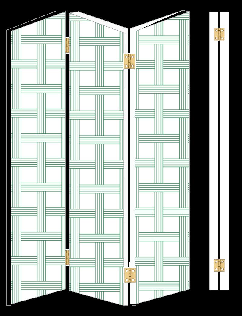 Un paravan realizat in doi timpi si trei miscari - Un paravan realizat in doi timpi
