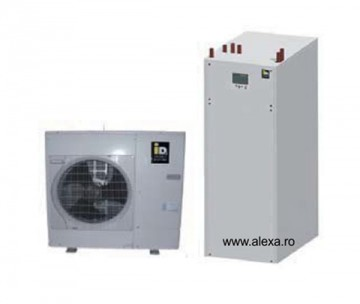 Pompa de caldura IDM aer-apa TERRA ML 6 inverter completa - Pompe de caldura aer-apa