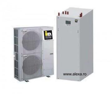 Pompa de caldura aer-apa TERRA ML 9 inverter completa - Pompe de caldura aer-apa