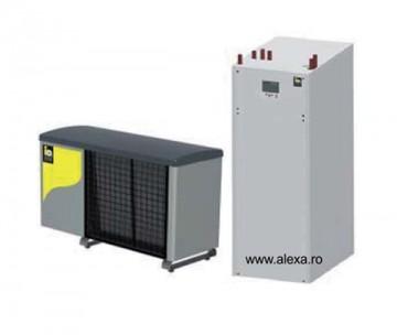 Pompa de caldura IDM aer-apa TERRA ML 12 inverter completa - Pompe de caldura aer-apa