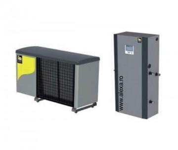 Pompa de caldura aer-apa TERRA ML 12 HGL inverter completa - Pompe de caldura aer-apa