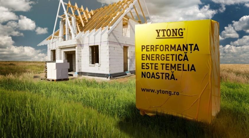 Performanta energetica asigurata de YTONG - Performanța energetică asigurată de YTONG