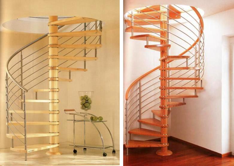 Scari din lemn pentru interior si exterior estfeller for Architecture si
