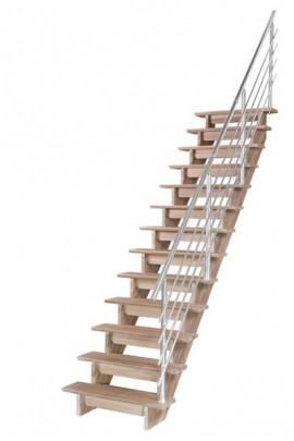 Scara pe structura din lemn Auvergne - Gama de scari CONTEMPORANE