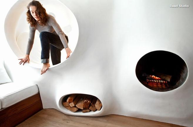 Casa artistei Clarina Bezzola - Amenajarea casei unui artist un motiv bun să își dea frâu