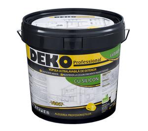 Vopsea ultralavabila cu silicon DEKO V 8067 - Vopsea lavabila exterior
