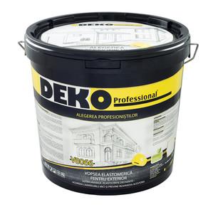 Vopsea elastomerica pentru exterior - Vopsea lavabila exterior