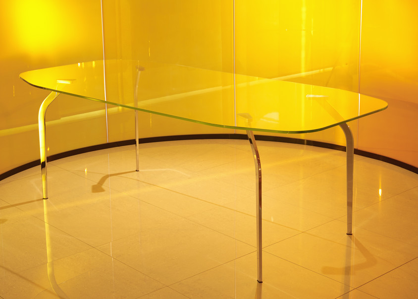 Mira XL Table in Crystal by Mac Stopa for Casali - CASALI participă la prestigiosul eveniment