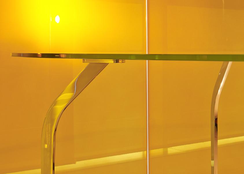 Mira XL Table in Crystal by Mac Stopa for Casali - CASALI participă la prestigiosul eveniment