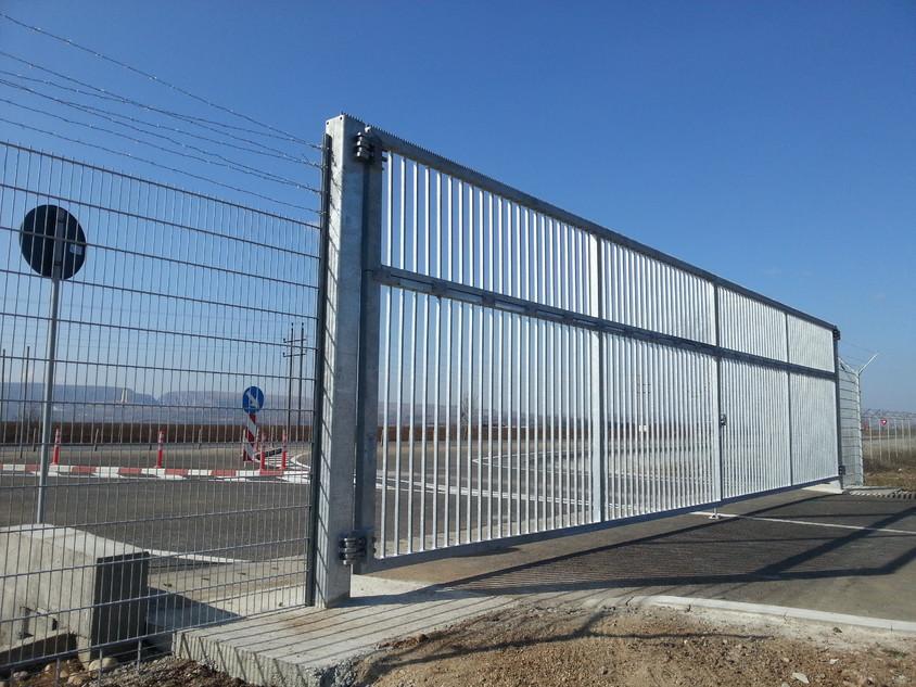 A doua poarta batanta de mari dimensiuni finalizata la Kaufland Logistic Turda - A doua poarta