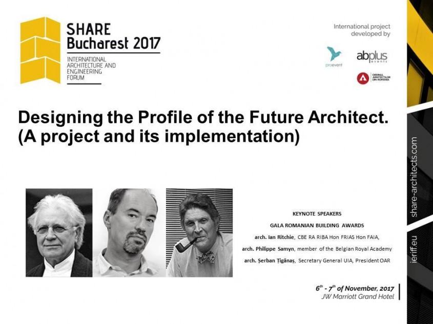 Pe 6 noiembrie ne întâlnim la SHARE Forum 2017 Bucharest la JW Marriott Grand Hotel! -
