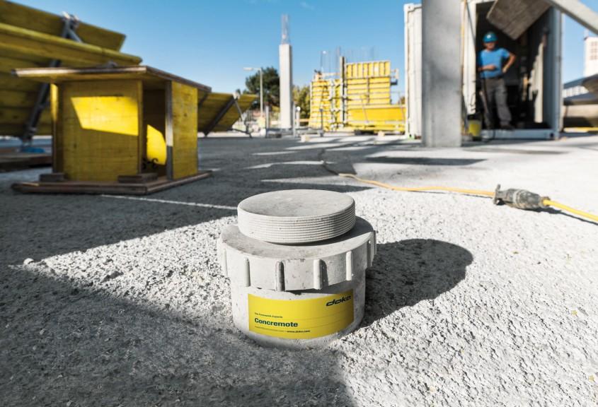 Doka Concremote - monitorizarea evolutiei betonului in timp real - Doka Concremote - monitorizarea evolutiei betonului