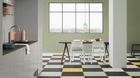 Linoleum Marmoleum Click tiles - Linoleum Marmoleum Click tiles