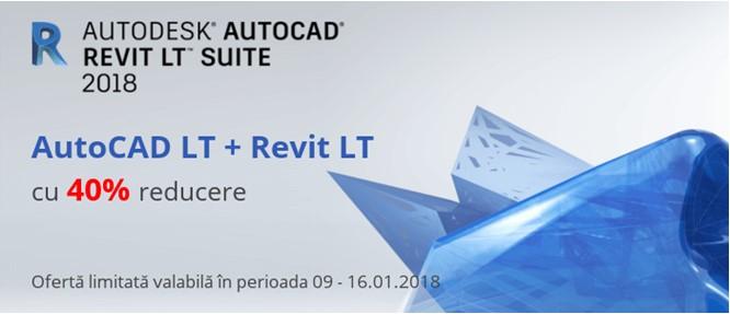 AutoCAD Revit LT Suite cu 40% reducere - AutoCAD Revit LT Suite cu 40% reducere