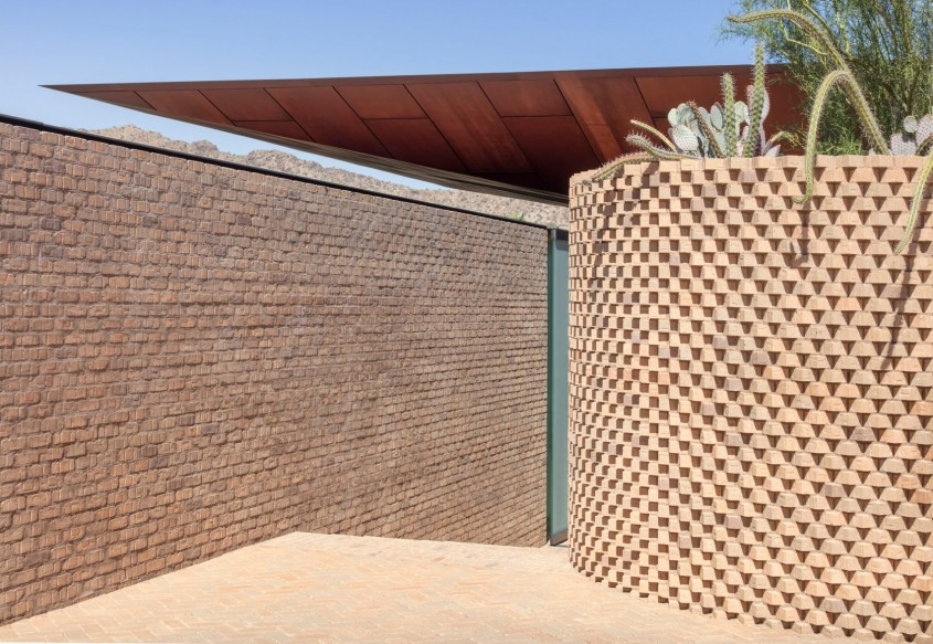 Casa Ghost Wash - O oază de calm și răcoare într-o casă din deșert
