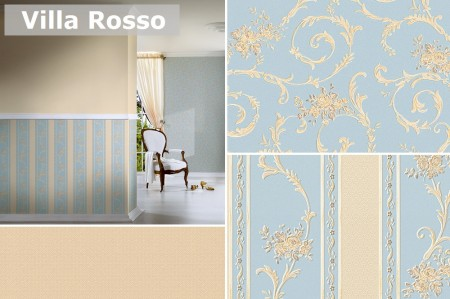 Tapet rezidential din hartie Villa Rosso - Tapet rezidential din hartie Classic