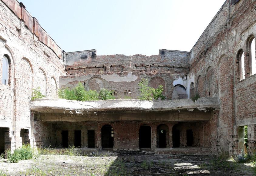Inainte de reabilitare - Palatul Cultural Blaj sau reabilitarea remarcabila a unei bijuterii arhitecturale