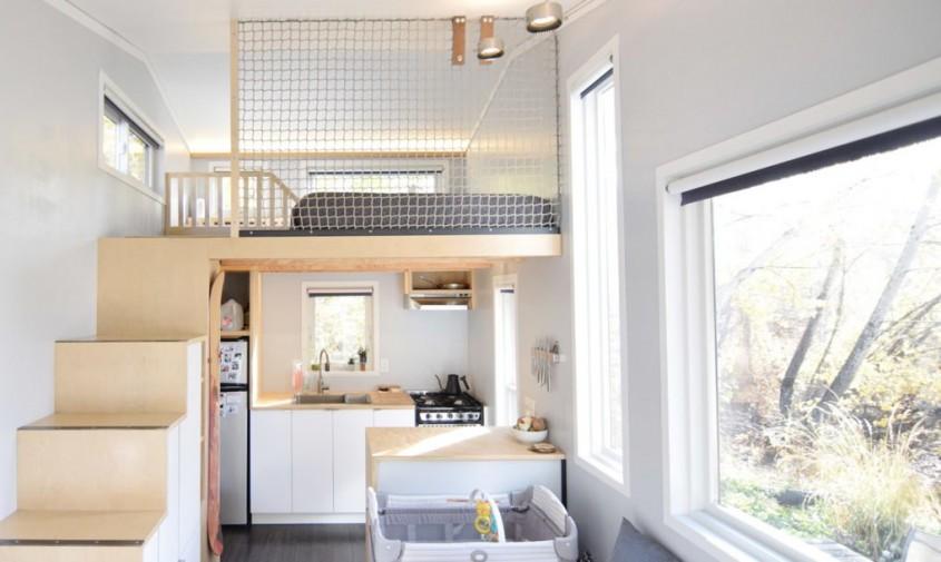 O casă completă de aproximativ 19 metri pentru familie - O casă completă de aproximativ 19
