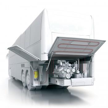 Airmed - protectie motoare, utilaje - Instalatie completa de detectie si stingere pentru motoare de masini