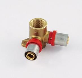 Racorduri de presare pentru tub multistrat - 1676SM - Racorduri de presare tevi multistrat