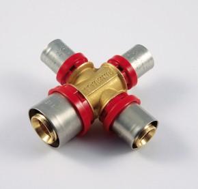 Racorduri de presare pentru tub multistrat - 1687 - Racorduri de presare tevi multistrat
