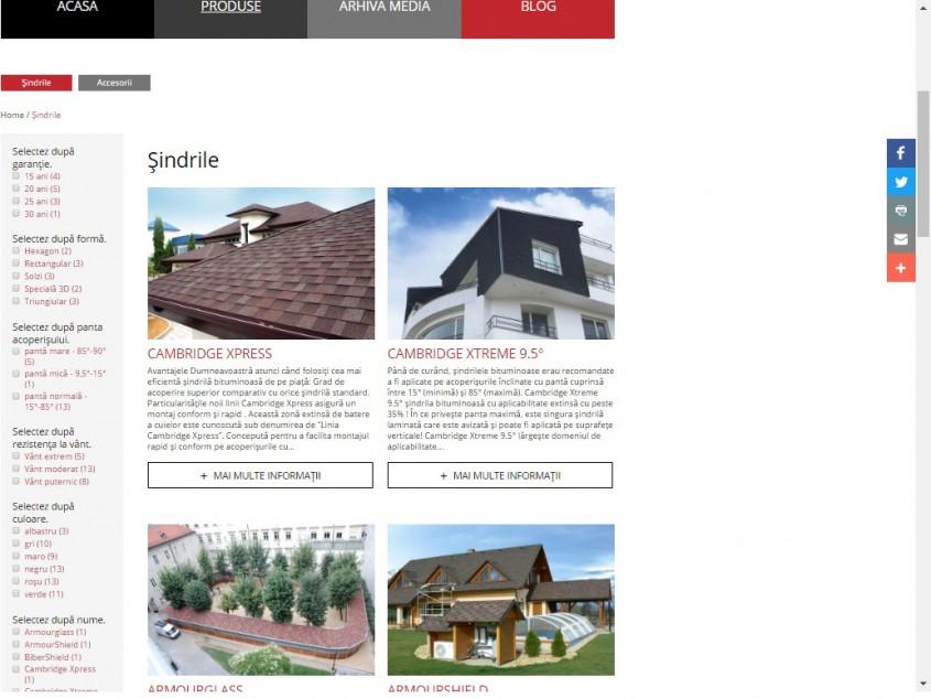 IKO website - PRODUSE - Cu mandrie va prezentam NOUL website IKO!