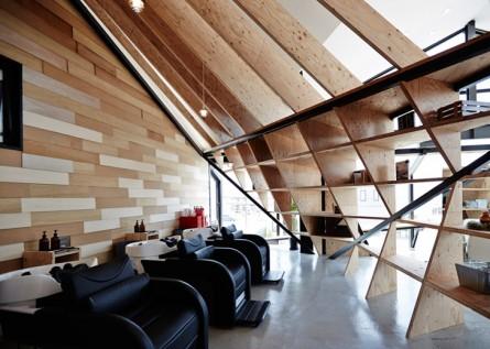Salonul Slundre - Un vechi restaurant japonez transformat in salon de coafura