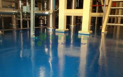 Impermeabilizare recipient cisterne - Pardoseli poliureice
