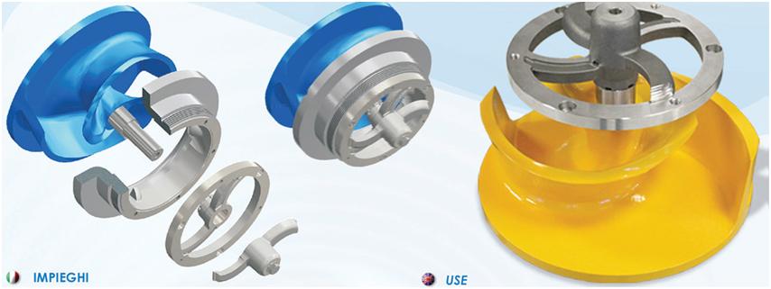 Electropompe submersibile multicanal cu sistem specal de taiere - Electropompe submersibile multicanal cu sistem specal de