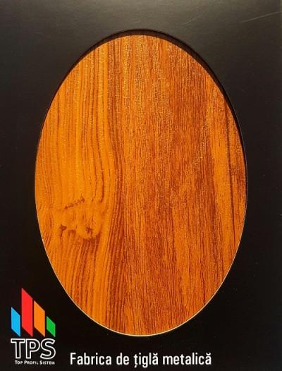 Tabla care imita lemnul - Garduri metalice