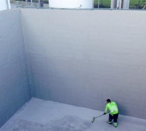MasterSeal 6100 FX - Membrana usoara, elastica, pentru hidroizolare si protectia betonului - Pelicule hidroizolante
