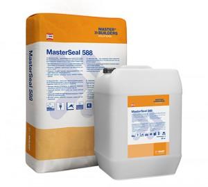 MasterSeal  588 - Membrana hidroizolatoare bicomponenta cu aplicare la interior sau exterior - Pelicule hidroizolante
