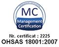 18001 - Standarde respectate