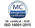 14001 - Standarde respectate