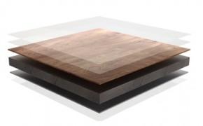 Structura placa HPL cu finisaj furnir natural din lemn PARKLEX Facade - Panou HPL