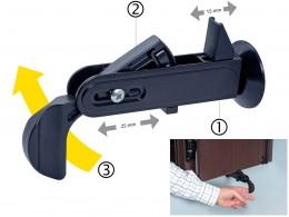 Blocator de oblon automat - ARCHIMEDE - Feronerie pentru obloane