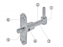 Pivoti reglabili - Feronerie pentru obloane