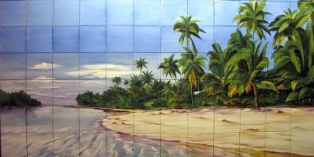 Plaja de vis - Faianta pentru piscine