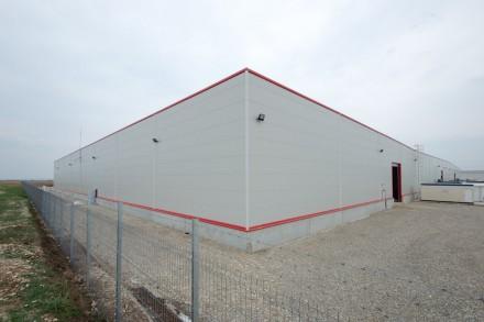 Extindere hala industriala Tessutica - Proiecte de referinta Romania Rikko Steel