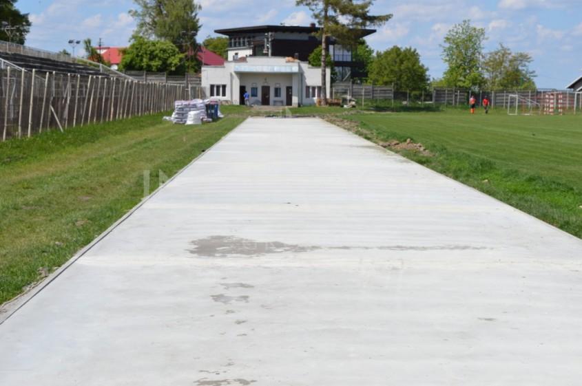 Turnare sapa beton - Un nou proiect de succes - cea mai noua si moderna pista