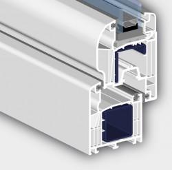 Profil ROPLASTO 6002 AD cu 6 camere - Profile PVC pentru ferestre