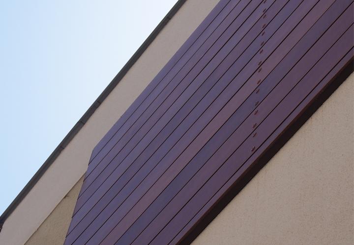 Locuinta anvelopata cu placi HPL cu finisaj furnir natural din lemn - PARKLEX Facade - Locuinta