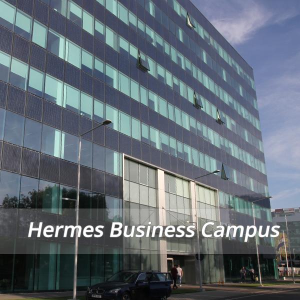 Hermes Business Campus 2 sistem de climatizare ultraperformant cu tehnologia Turbocor - Hermes Business Campus 2