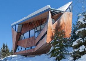 Casa Hadaway - O casa contemporana in varf de munte casa contemporana O casa contemporana in varf de munte hadaway house by patkau architects 3 122826