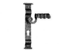 Maner fier forjat PORTO - Manere si silduri din fier forjat pentru usi si ferestre