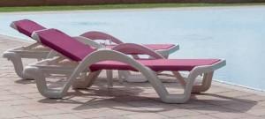 Sezlong PP 044 - Mobilier pentru plaja si piscina