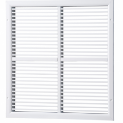 Grila liniara cu lamele fixe 700*500mm, gri - Accesorii ventilatie grile pvc si metalice