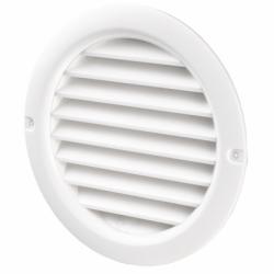 Grila rotunda diam 125 mm - Accesorii ventilatie grile pvc si metalice